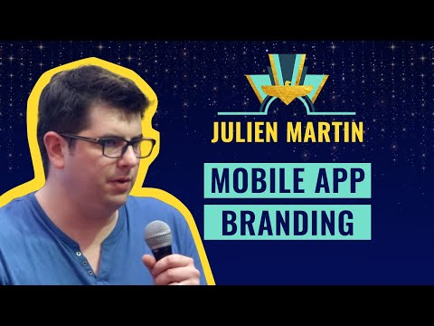 Mobile App Branding - by Julien Martin