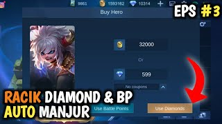 SCRIPT 10.000 DIAMOND 1,5 JUTA BATTLE POINT MOBILE LEGENDS TERBARU MEI 2020 MLBB INDONESIA POPOLKUPA