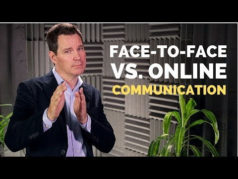 Face To Face Vs Online Communication