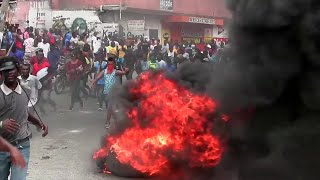 Haitan carnival turns into mass protest after shooting