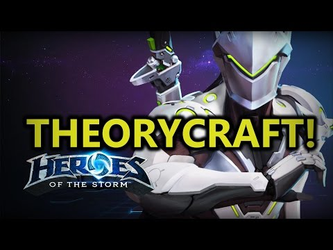 ♥ Heroes of the Storm - Genji First Impressions & Theorycrafting