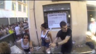 Palma de Mallorca street party