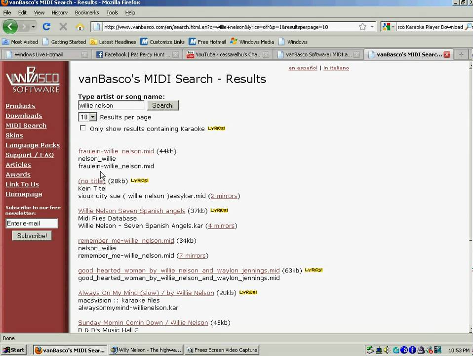 VanBasco Karaoke Software-if you like Karaoke its a must see!