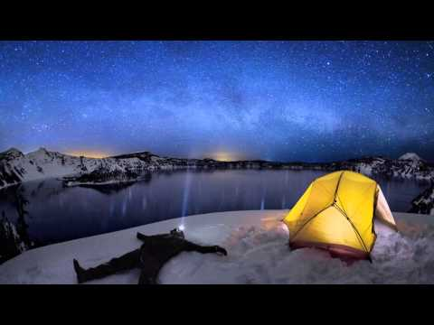 Crater Lake at night... Time Lapse