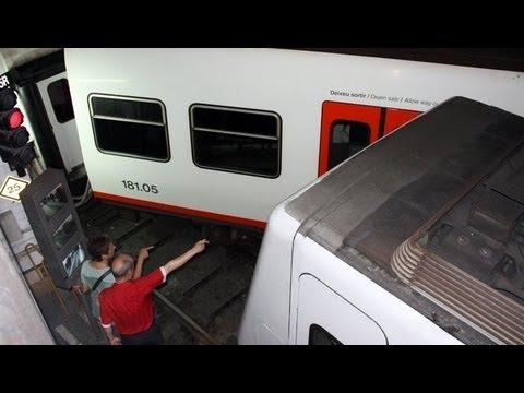Descarrila un tren de Ferrocarrils de la Generalitat