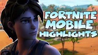 FORTNITE MOBILE ISN'T TRASH! Best Fortnite Mobile Compilation!