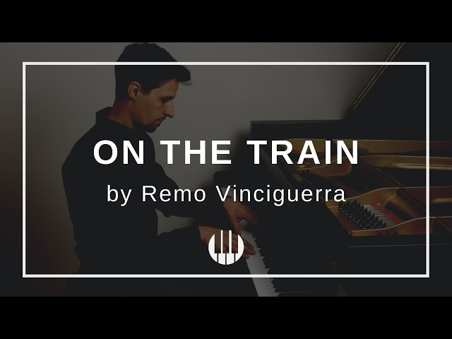 On the Train by Remo Vinciguerra