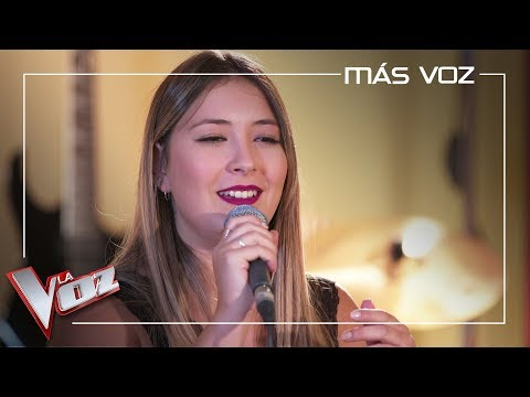 María Espinosa ensaya 'Ya lo sabes' para las Audiciones a ciegas | Más Voz 2019