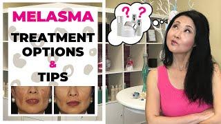 Melasma Treatment Options and Tips