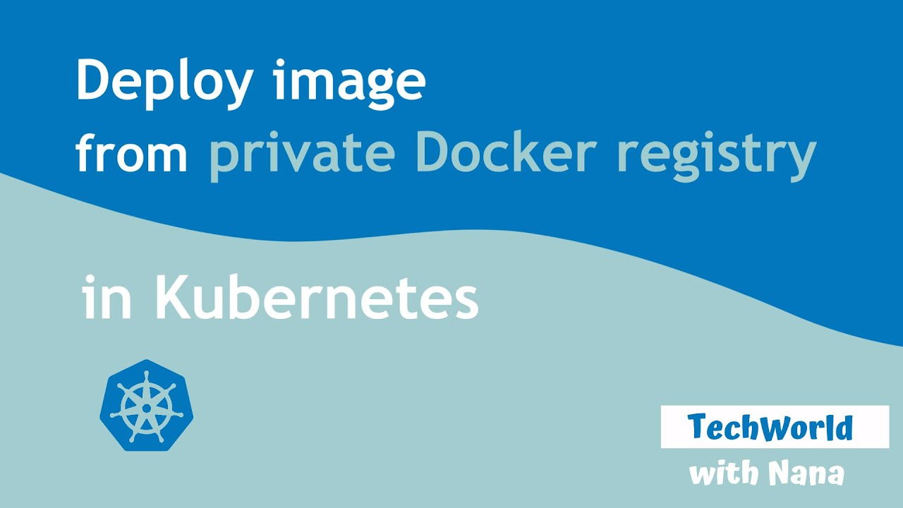 Pull Image from Private Docker Registry in Kubernetes cluster   Demo