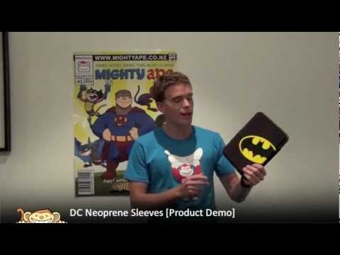 DC Neoprene iPad and Notebook Sleeves [Product Demo]