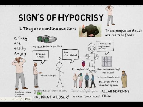 SIGNS OF HYPOCRISY - Nouman Ali Khan Animated