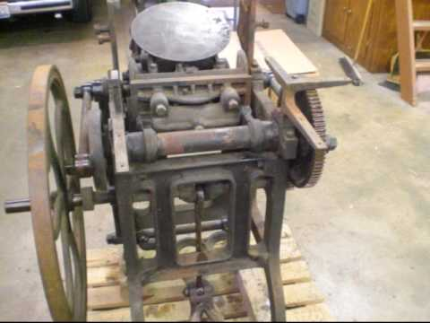 Liberty Platen Press Model 2