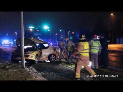 07.01.2017 Trafik uheld Vallensbæktorvevej, Vallensbæk