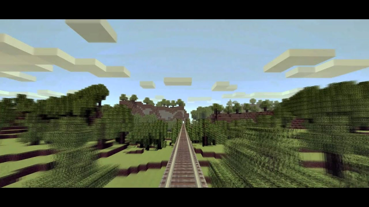 Eight Mile Long Minecraft Highway Boing Boing You can go faster with blue ice, but i believe. eight mile long minecraft highway