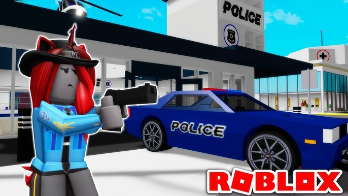 I Became A POLICE OFFICER In Brookhaven (Roblox) YouTube