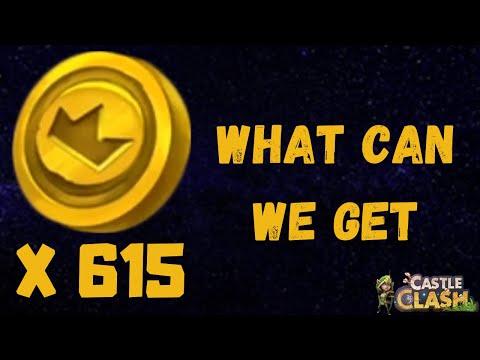 Castle Clash | Discount Store | 615 Coins