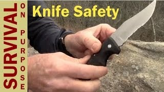Gambar cover Knife Safety - Basic Outdoor Skills