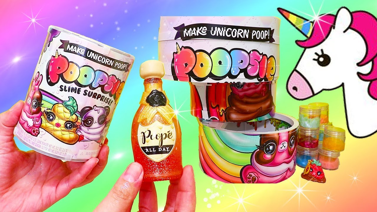 356f63ee1d3a Unicorn Magical Poopsie Slime Surprise that Changes Color ! Toys and ...