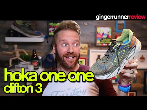 HOKA ONE ONE CLIFTON 3 REVIEW | The Ginger Runner