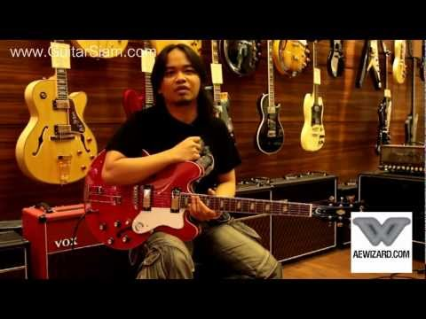 Epiphone Riviera custom shop limited by Ae Wizard (sub eng)