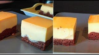 Gateau magique,gâteau chocolat et flan vanille caramel  Caramel custard cake recipe