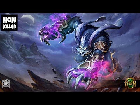 HoN Night Hound Gameplay - Z4NE - Rank Immortal