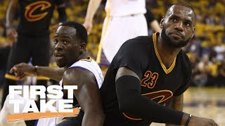 Draymond Green And LeBron James Troll Each Other On Instagram   First Take   June 16, 2017