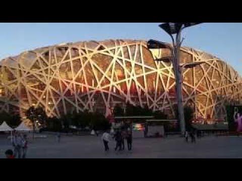 Beijing Bird's Nest Stadium and Water Cube