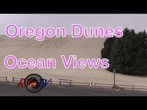 Oregon National Recreation Dune Area....Dune City...Ocean Jetty....RVerTV