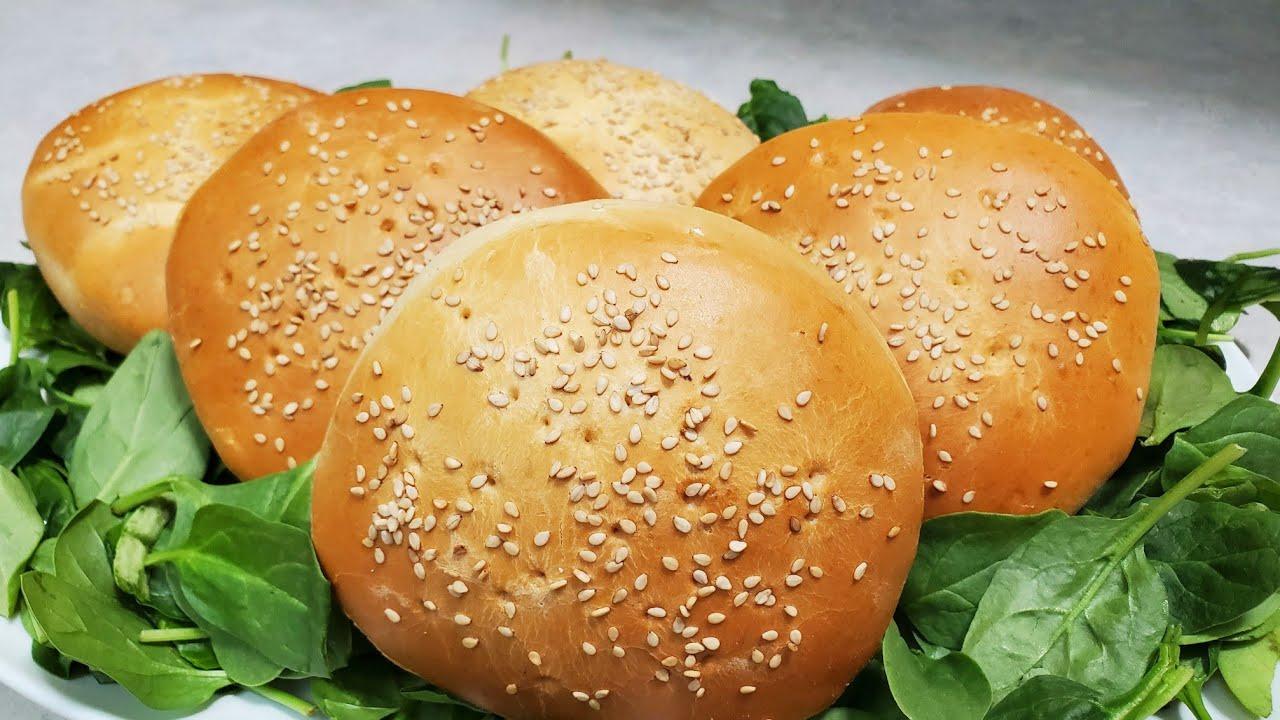 Como hacer pan de hamburguesa 🍔 recta y  prosedimiento