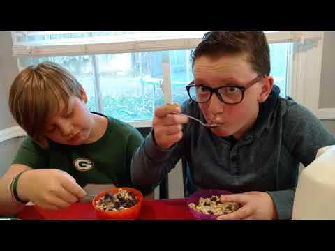Weird Food Combinations w/ Parker (Warning Vomit Alert!)