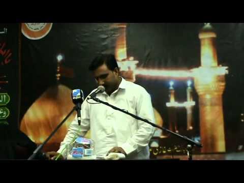 akhtar khokhar bcn 21 08 2011 shahadat mola ali a s 20 ramazan in spain barcelona day 1 2   YouTube