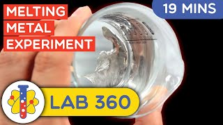 Making Melting Metal at Home | Science Experiments You Can Do At Home | Lab 360