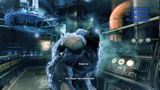 Batman Arkham Origins Cold Cold Heart , Mr.Freeze Finale Boss fight (part #1)