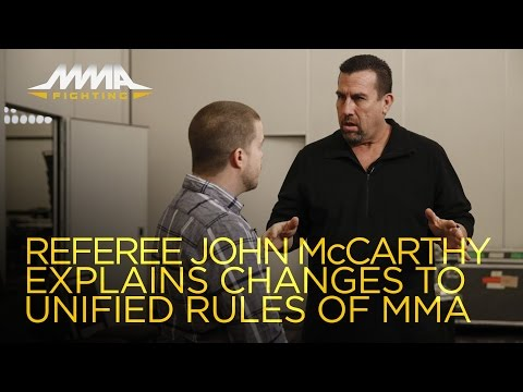John McCarthy Explains Changes to Unified Rules of MMA