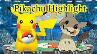 最上位ピカチュウ使いの神追撃 スマブラ世界大会 Pikachu Highlight Smash4