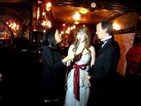 Le Bal Louis XIV 2011-interview Le Comte Louis de Causans et Mika TAKAGI, présidente de AAM