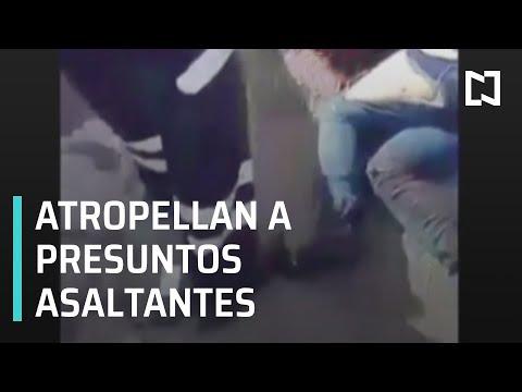 Atropella chofer a dos hombres que intentaban asaltarlo - Las Noticias