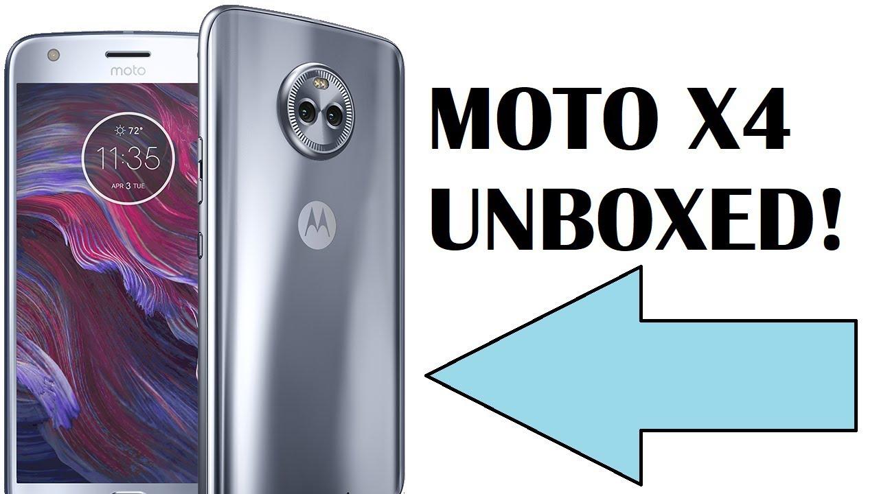 Motorola MOTO X4 UNBOXING!