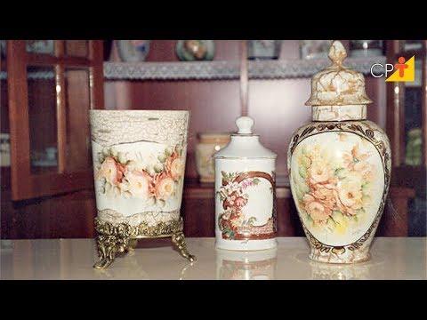 Clique e veja o vídeo Curso a Distância de Pintura em Porcelana