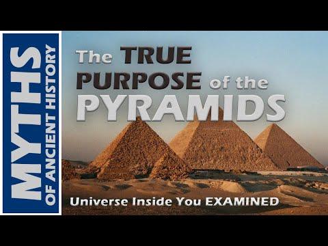 The True Purpose Of The Pyramids