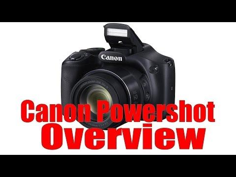 Canon Powershot Overview Tutorial (ELPH, SX400, SX510, SX610, SX710, SX60)