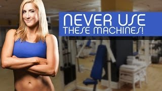 5 Gym Machines To Avoid for Thighs, Back and Abs (And What Exercises To Do Instead!!)(Get the RIGHT exercises to meet your fitness goals http://athleanx.com/x/therightexercises All those crazy looking weight machines at the gym...there are some ..., 2013-10-30T18:01:54.000Z)