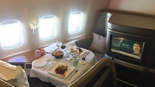 cathay pacific   first class   cx735   hong kong singapore   flight review