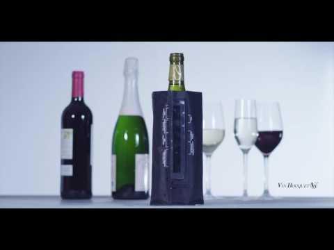 Disfrute de su vino o cava a la temperatura idónea gracias a nuestra funda enfriadora de gel. Incluye un termómetro que le ayuda a controlar la temperatura de ...