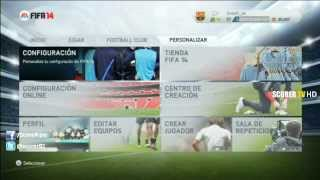 FIFA 14 PlayStation 3 - Menu Completo