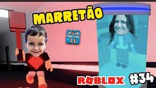Roblox: Rodrigo, A FERA Implacável!! MARRETÃO #2 (Flee the Facitity) Family Plays