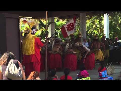 Trade day Rarotonga Cook Islands