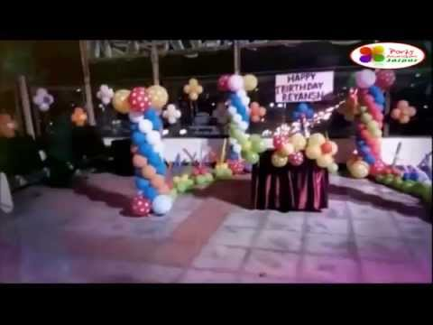Birthday Party in Jaipur Party decorations jaipur YouTube
